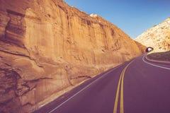 Viaggio ad ovest americano Immagine Stock