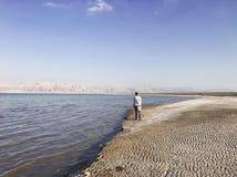 Viaggio al mar Morto Fotografie Stock Libere da Diritti