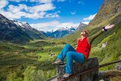 Viaggio alla Norvegia Fotografie Stock Libere da Diritti