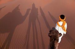 Viaggio alle dune Fotografia Stock Libera da Diritti