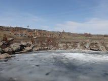 Viaggio attraverso l'Armenia fotografia stock