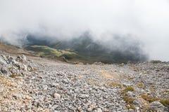 Viaggio attraverso la riserva naturale di biosfera di Caucaso fotografia stock libera da diritti