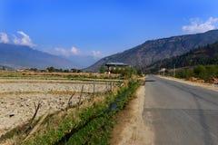 Viaggio Bhutan Fotografie Stock