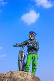 Viaggio in bici Fotografia Stock Libera da Diritti