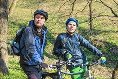 Viaggio in bici Immagini Stock Libere da Diritti