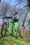 Viaggio in bici Immagine Stock