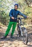 Viaggio in bici Immagine Stock Libera da Diritti