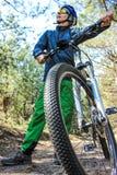 Viaggio in bici Fotografie Stock Libere da Diritti
