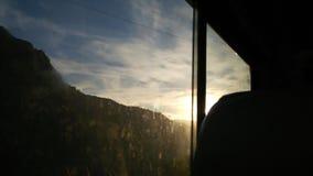 Viaggio in colline Immagine Stock