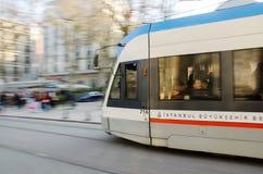 Viaggio con il tram Immagini Stock Libere da Diritti