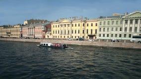 Viaggio del fiume di Moika a St Petersburg Immagini Stock