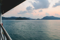 Viaggio del mare Fotografia Stock Libera da Diritti