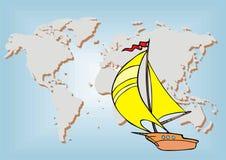 Viaggio del mare Immagini Stock Libere da Diritti
