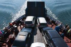 Viaggio del traghetto Fotografie Stock