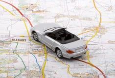 Viaggio dell'automobile Immagine Stock