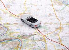 Viaggio dell'automobile Fotografia Stock