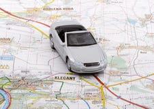 Viaggio dell'automobile Immagini Stock