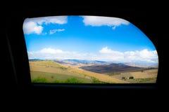 Viaggio dell'automobile della Sicilia immagini stock
