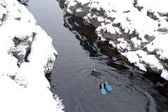 Viaggio dell'Islanda Immagine Stock