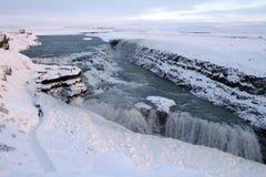 Viaggio dell'Islanda Fotografie Stock