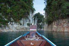 Viaggio della barca Fotografia Stock