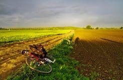 Viaggio della bici Fotografia Stock Libera da Diritti