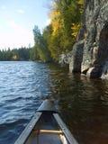 Viaggio della canoa Fotografia Stock Libera da Diritti