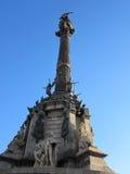 Viaggio della città del monumento di Barcellona fotografia stock libera da diritti