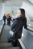 Viaggio della donna fotografia stock