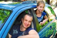 Viaggio della famiglia Fotografia Stock Libera da Diritti