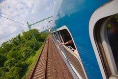 Viaggio della ferrovia fotografia stock