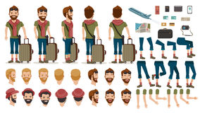 Viaggio della gente illustrazione di stock