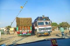 Viaggio della gente in bus terrestre a Fotografia Stock Libera da Diritti
