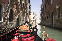 Viaggio della gondola Fotografie Stock Libere da Diritti
