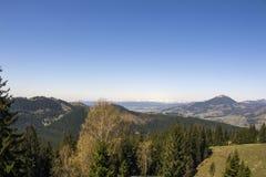 Viaggio della montagna in Vatra Dornei Fotografia Stock