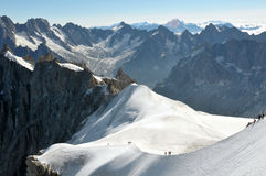 Viaggio delle alpi Fotografie Stock Libere da Diritti