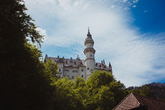 Viaggio delle alpi della Baviera della Germania Immagini Stock