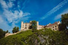 Viaggio delle alpi della Baviera della Germania Immagine Stock