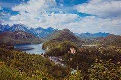 Viaggio delle alpi della Baviera della Germania Fotografie Stock