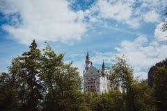 Viaggio delle alpi della Baviera della Germania Fotografia Stock Libera da Diritti