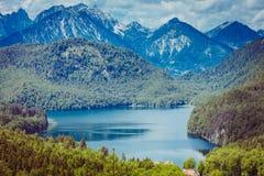 Viaggio delle alpi della Baviera della Germania Immagine Stock Libera da Diritti