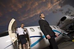 Viaggio di affari Fotografia Stock