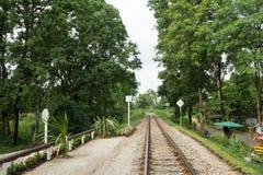Viaggio di andata e ritorno la Tailandia luglio 2017 - ponte al Kwai Fotografia Stock