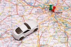 Viaggio di automobile astratto Fotografia Stock