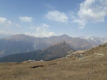 Viaggio di Chandrashilla fotografie stock