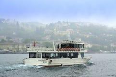 Viaggio di crociera di Bosphorus Fotografia Stock