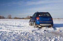 Viaggio di inverno Immagine Stock