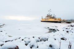 Viaggio di inverno Immagini Stock Libere da Diritti
