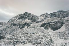 Viaggio di inverno di Rocky Mountains Landscape Fotografia Stock Libera da Diritti