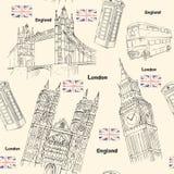 Viaggio di Londra Fotografia Stock